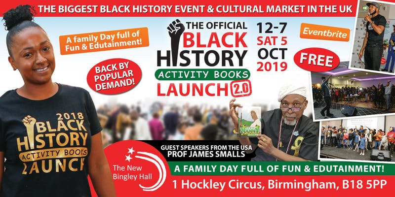 Black History Activity Book Launch 2.0
